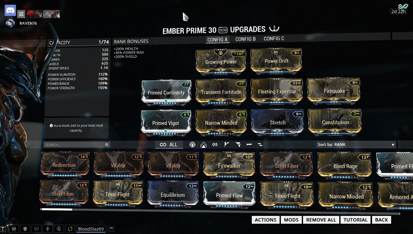 bug di matchmaking Warframe